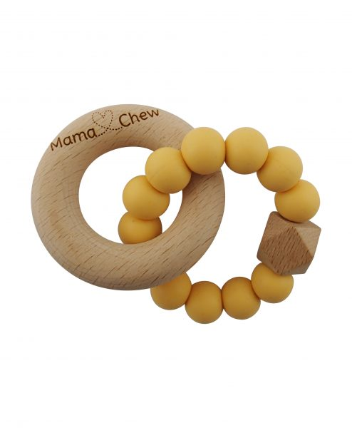 Hex & Wood Teether