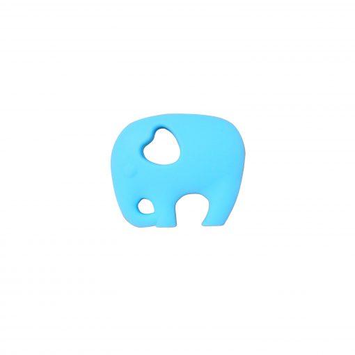 Elephant teether – Sky Blue