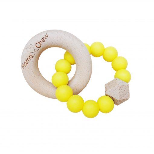 Hex & Wood – Yellow