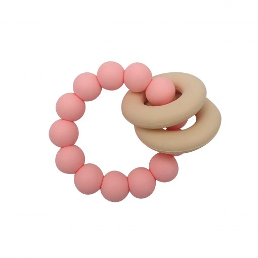 Halo Teether – Pink